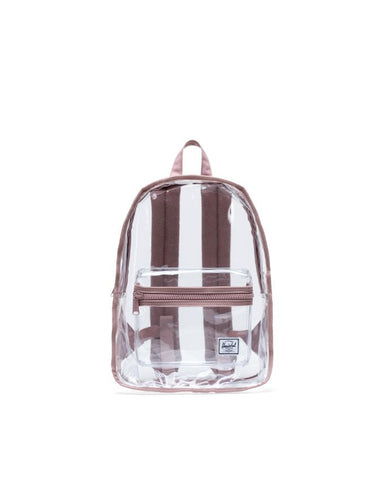 Herschel Supply Co. - Classic Mid Volume Clear Ash Rose Transparent Backpack