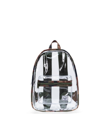 Herschel Supply Co. - Classic Mid Volume Clear Woodland Camo Transparent Backpack
