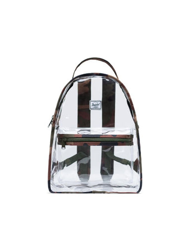 Herschel Supply Co. - Nova Mid Volume Clear Woodland Camo Backpack