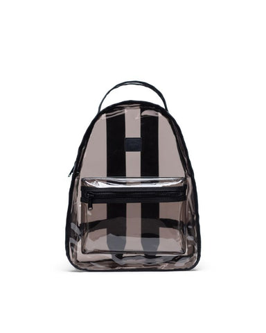 Herschel Supply Co. - Nova Mid Volume Clear Black Smoke Backpack