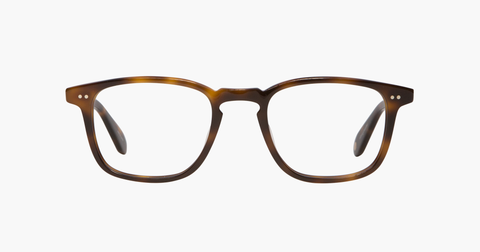 Garrett Leight - Howland Classic Brown Eyeglasses / Demo Lenses