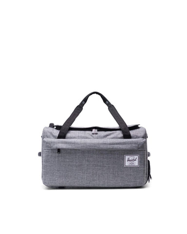 Herschel Supply Co. - Outfitter Raven Crosshatch 50L Duffel Bag