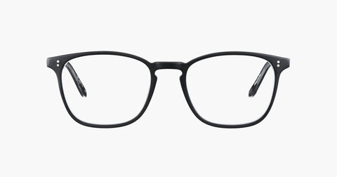 Garrett Leight - Boon 52mm Matte Black Eyeglasses / Demo Lenses