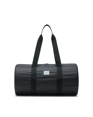 Herschel Supply Co. - Packable Ripstop Black Duffel Bag