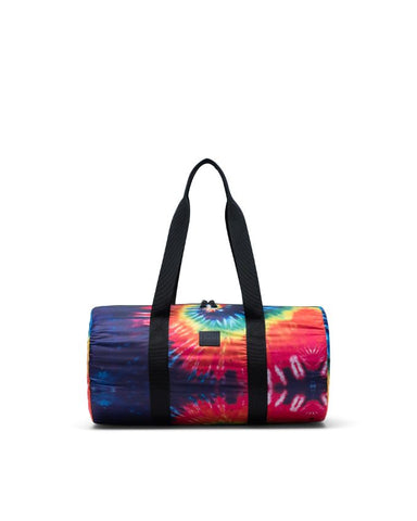 Herschel Supply Co. - Packable Rainbow Tie Dye Duffel Bag