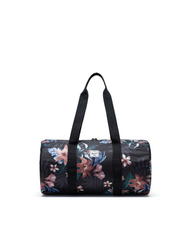 Herschel Supply Co. - Packable Summer Floral Black Duffel Bag