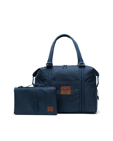 Herschel Supply Co. - Strand Sprout Indigo Denim Crosshatch Tote