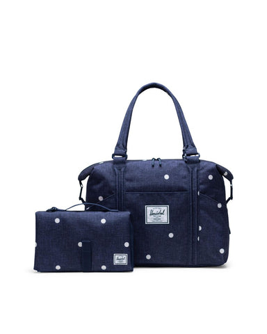 Herschel Supply Co. - Strand Polka Dot Crosshatch Peacoat Tote