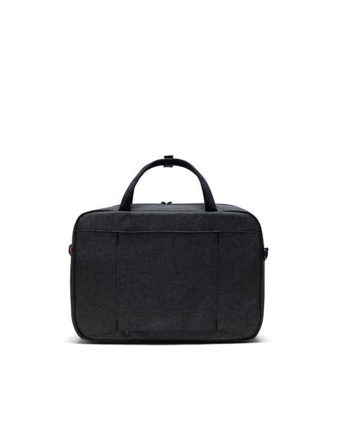 Herschel Supply Co. - Gibson Black Crosshatch Messenger Bag