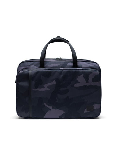 Herschel Supply Co. - Packable Ripstop Navy Red Duffel Bag