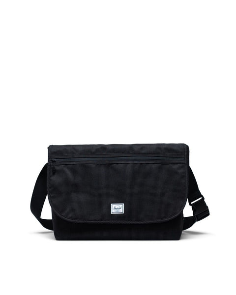 Herschel Supply Co. - Grade Dark Grid Black Messenger Bag