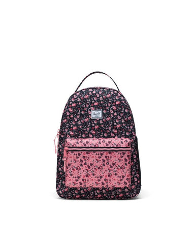 Herschel Supply Co. - Nova Multi Ditsy Floral Black Flamingo Pink Youth Backpack