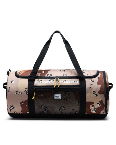 Herschel Supply Co. - Sutton Athletics Desert Camo Black Duffel Bag