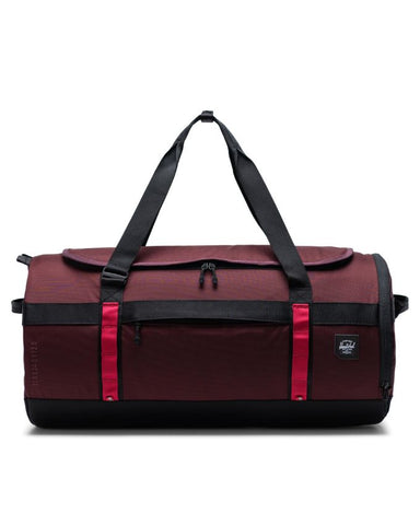 Herschel Supply Co. - Sutton Carryall Trail Plum Red Black Duffel Bag