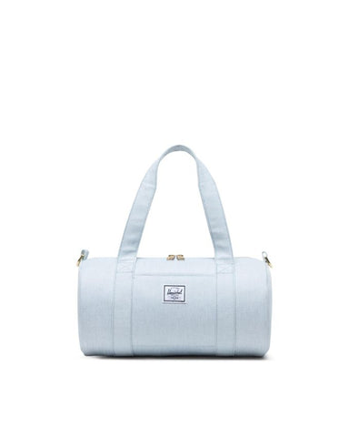 Herschel Supply Co. - Sutton Mini Ballad Blue Pastel Crosshatch Duffel Bag