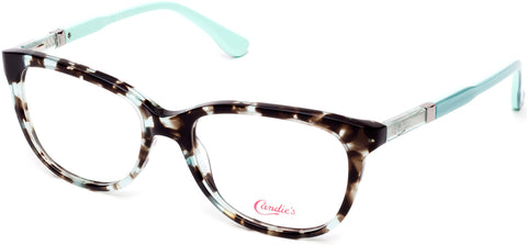 Candie's - CA0508 49mm Turquoise Eyeglasses / Demo Lenses
