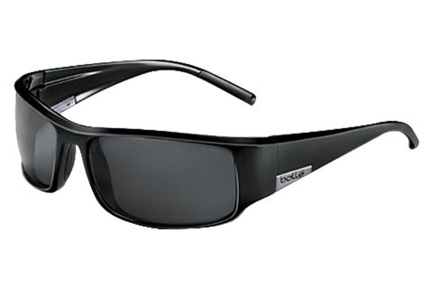 Bolle - King Shiny Black Sunglasses, TNS Lenses