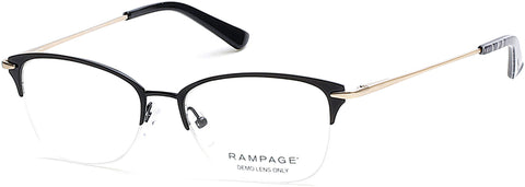 Rampage - RA0202 Matte Black Eyeglasses / Demo Lenses