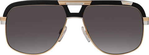 Cazal - 986 53mm Matte Black Bicolour Sunglasses / Grey Lenses