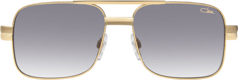 Cazal - 988 57mm Gold Sunglasses / Grey Gradient Lenses