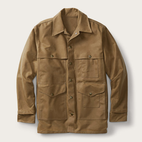 Filson - Tin Cloth Dark Tan Cruiser Jacket