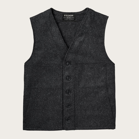 Filson - Mackinaw Charcoal Wool Vest