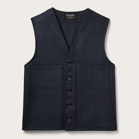Filson - Mackinaw Navy Wool Vest