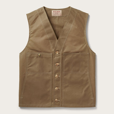 Filson - Oil Tin Dark Tan Vest