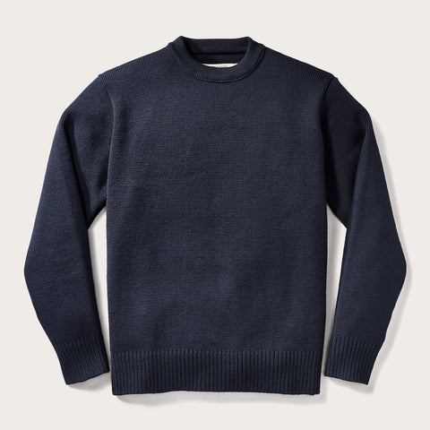 Filson - Crew Neck Dark Navy Guide Sweater
