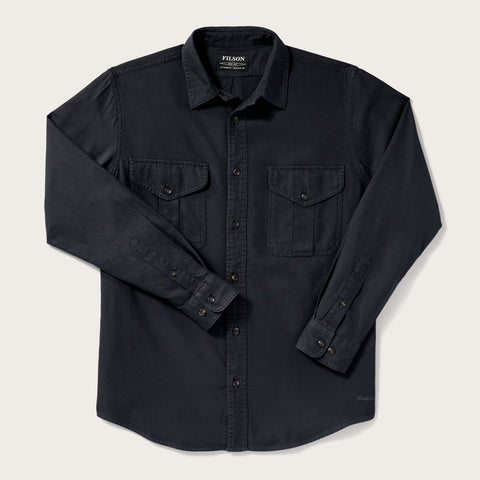 Filson - Lightweight Alaskan Midnight Navy Regular Guide Shirt