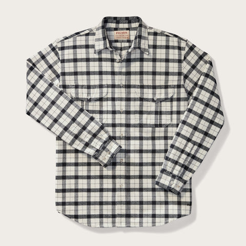 Filson - Alaskan Cream Black Regular Guide Shirt