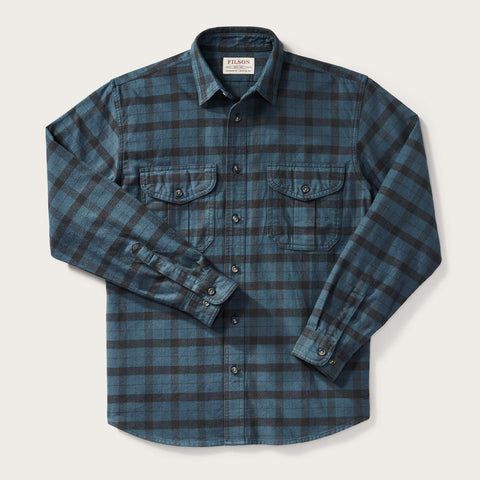 Filson - Alaskan Midnight Black Regular Guide Shirt