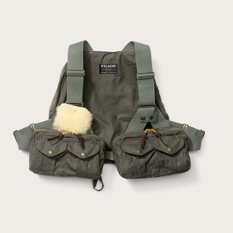 Filson - Foul Weather Otter Green Fly Fishing Vest