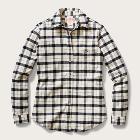 Filson - Women's Alaskan Cream Black Guide Shirt