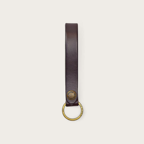 Filson - Bridle Brown Leather Key Strap
