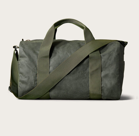 Filson - Small Tin Cloth Field Spruce Duffel Bag