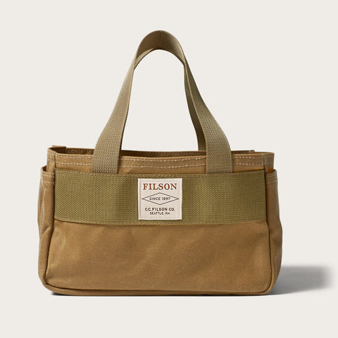 Filson - Oil Finish Shot Dark Tan Shell Bag