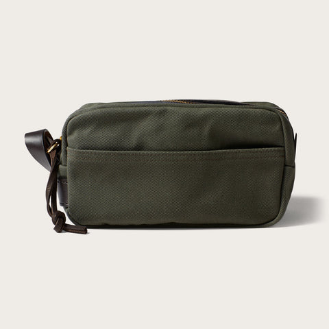 Filson - Rugged Twill Otter Green Travel Kit