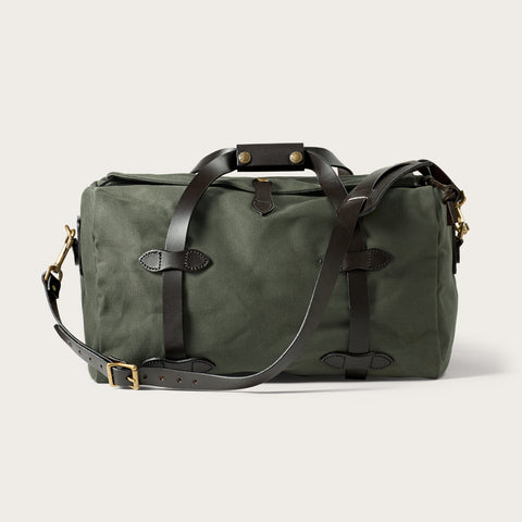 Filson - Rugged Twill Otter Green Brass Small Duffel Bag