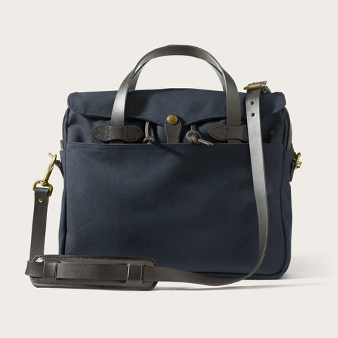 Filson - Rugged Twill Original Navy Brass Briefcase