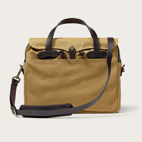 Filson - Rugged Twill Original Tan Brass Briefcase