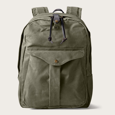 Filson - Journeyman Otter Green Brass Backpack