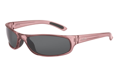 Bolle - Anaconda Jr. Shiny Crystal Rose Sunglasses, TNS Lenses