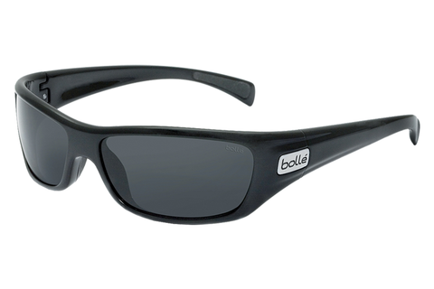Bolle - Copperhead Shiny Black Sunglasses, TNS Oleo AF Polarized Lenses