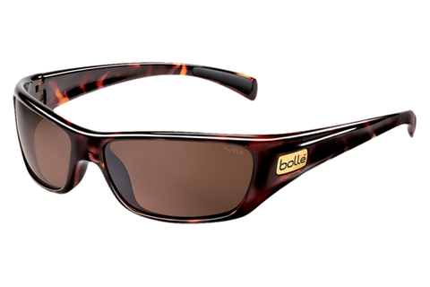 Bolle - Copperhead Dark Tortoise Sunglasses, A-14 Oleo AF Polarized Lenses