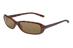 Bolle - Molly Dark Tortoise Sunglasses, TLB Dark Lenses