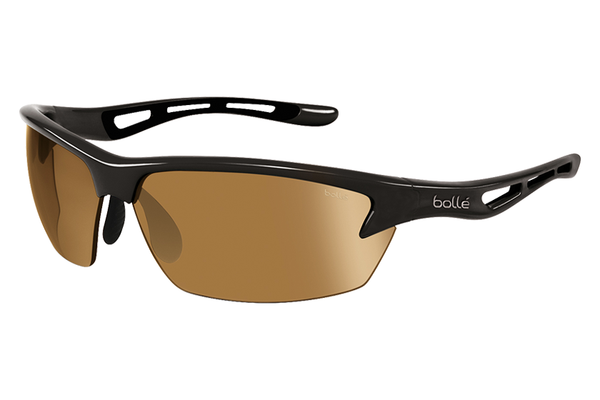Bolle - Bolt Shiny Black Photo Sunglasses, Modulator V3 Golf Oleo AF Lenses