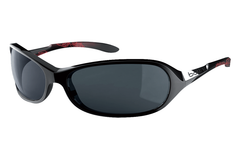 Bolle -  Grace Shiny Black/Coral Sunglasses, TNS Oleo AF Polarized Lenses