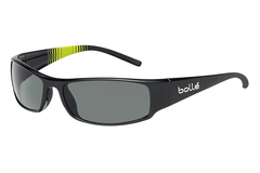 Bolle - Prince Shiny Black/Multicolor Sunglasses, TNS Lenses