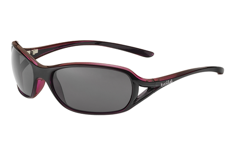 Bolle - Solden Shiny Plum / Translucent Sunglasses, TNS Oleo AF Polarized Lenses
